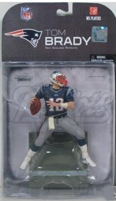 Tom Brady #12 New England Patriots Clean Uniform Chase Alternate Variant McFarlane NFL 2008 Wave 2 Action Figure by McFarlane Toys (Tom Brady Mcfarlane Figuren)