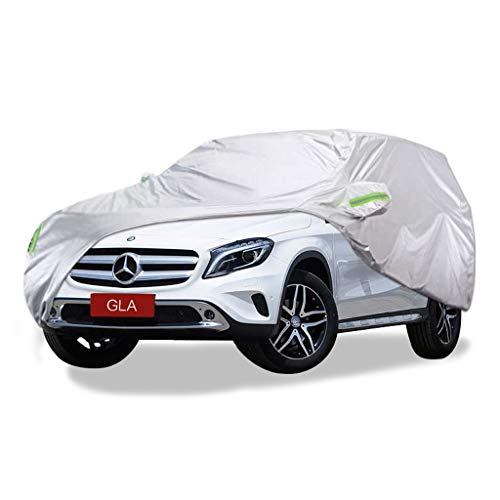 SXET-Cubierta de coche Cubierta para automóvil Cubierta completa para automóvil Mercedes-Benz GLA serie Four Seasons Universal Anti-UV para exteriores, lluvia y lluvia y nieve (Tamaño : 2015 GLA220)