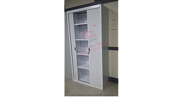Armadio Per Ufficio In Inglese : Armadio in metallo ufficio archiviazione ante a serrandina
