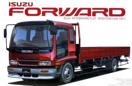 Isuzu 99 Forward Flat Body (342 Late Type) (Model Car)