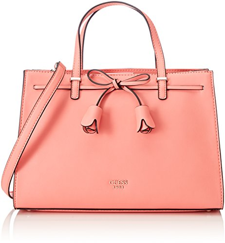 Guess Damen Bags Hobo Umhängetasche, Orange (Coral), 14.5x22.5x32.5 centimeters (Coral Hobo)