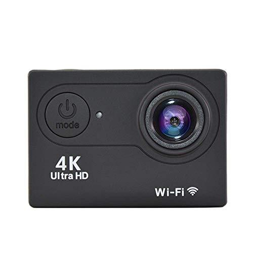 XRQ 4K Sportkamera Dv Sportkamera All-In-One V3 1080P WiFi wasserdichte Outdoor-Mini-Recorder, Schwarz,Schwarz