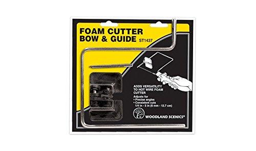 Woodland Scenics ST1437 Foam Cutter Bow & Guide