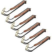 Magideal 6 Piezas de Metal de Mesa de Billar