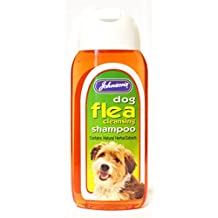 Champú para perros antipulgas Johnsons Vet