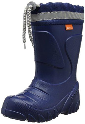 c4b6031bf Kids Boys Girls Wellington Boots Rainy Snow Wellies Ultra Light EVA Warm  Liners (Size 10