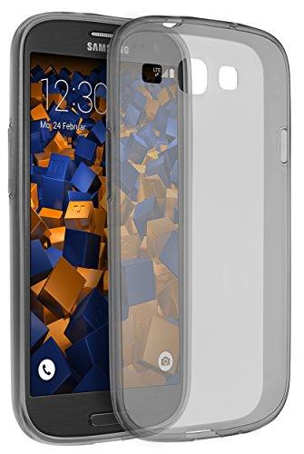 mumbi UltraSlim Hülle für Samsung Galaxy S3 / S3 Neo Schutzhülle transparent schwarz (Ultra Slim - 0.55 mm)