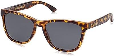 D.Franklin ROOSEVELT CAREY/BLACK - gafas de sol, unisex, color negro, talla UNI