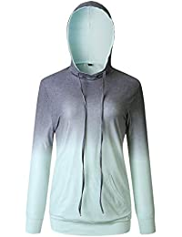 20d2a5fd200f7e NORA TWIPS Damen Kapuzenpullover, Damen Sweatshirt, Damen Hoodie, Casual  Sport Freizeit Slim Fit