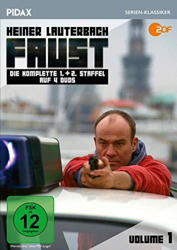 Faust, Vol. 1 / Die komplette 1. und 2. Staffel der Krimi-Erfolgsserie mit Heiner Lauterbach (Pidax Serien-Klassiker) [4 DVDs]
