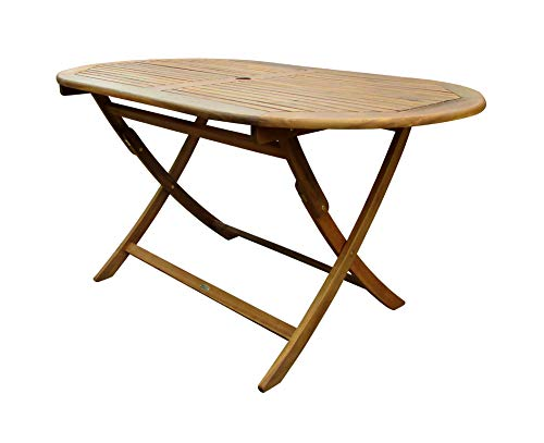 Charles Bentley Wooden Oval Table