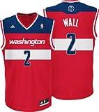 John Wall Adidas Washington Wizards Red Replica Youth Kinder Jersey