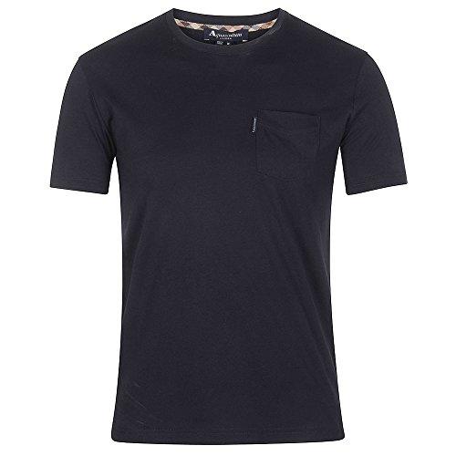mens-aquascutum-mens-cullen-plain-t-shirt-in-navy-xl
