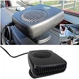 vulna £ ¨ TM £ © 2016Nuevo 12V coche calentador secador de pelo ventilador de refrigeración de alta calidad plegable mango Van Demister y V)