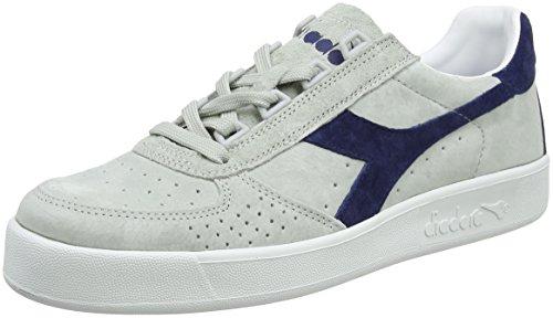 Diadora B.Elite L, Zapatillas de Gimnasia Para Hombre, Blanco (Biancorosso Tibetano), 42 EU amazon-shoes el-blanco Deportivo