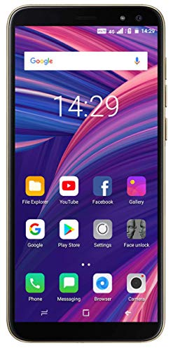 Xifo Ringme R1 5.5 Inch Display 4G Smartphone Blue (Volte Support) (2GB RAM, 16GB Storage) (Gold)