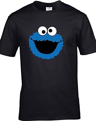 Eat Sleep Shop Repeat Herren T-Shirt Schwarz