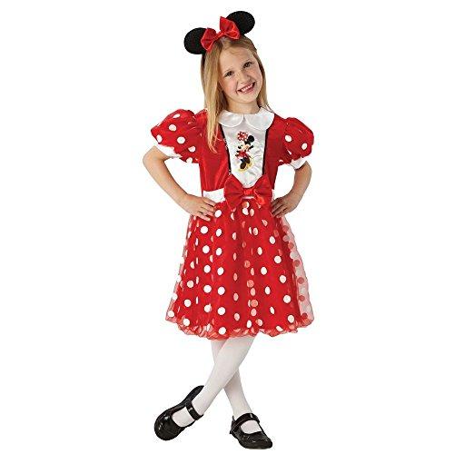 er Kostüm | Fasching | Karneval | Gr. 110-134 | Minnie Maus, Größe:L ()