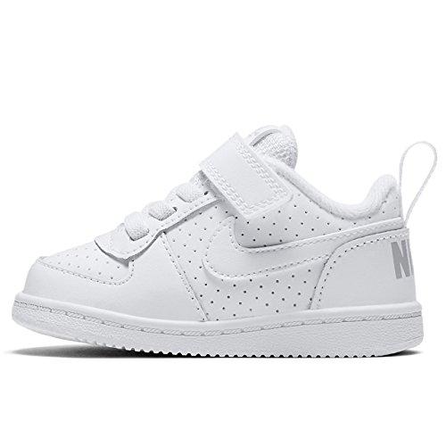 Nike Scarpe da Tennis dei bambini Bianco 870.029 23 5 Bianco