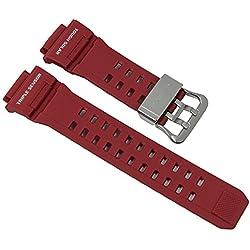 Casio G-Shock Ersatzband Uhrenarmband Resin Band Rot für GW-9400 10479563