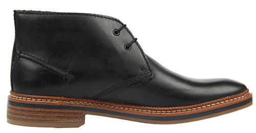 Clarks Grimsby Hi Herren Kurzschaft Stiefel Blau (Midnight Leather)