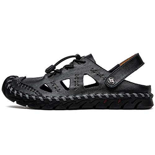 Yooh Uomo Sandali alla Moda Havaianas Sandali Ginnastica Running Sport Respirabile Platform Sandalo Shoes 38-48 Selvaggio Sneakers Outdoor Fitness Respirabile