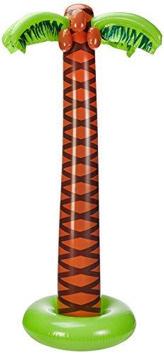 Widmann 2392C - Deko Palme aufblasbar, ca. 180 cm