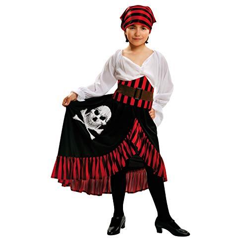 My Other Me Me-200586 Disfraz pirata bandana niña