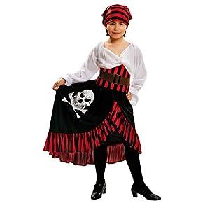 My Other Me Me-200585 Disfraz de pirata bandana para niña, 7-9 años (Viving Costumes 200585