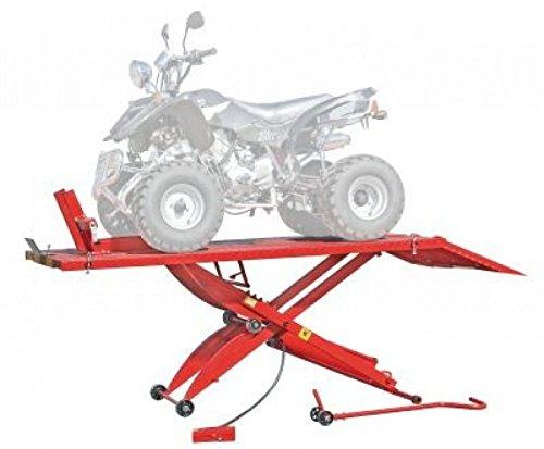Motorradhebebühne / Quadhebebühne pneum. 450 kg