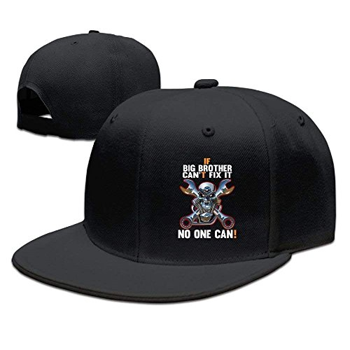 fboylovefor If Big Brother Can't Fix It No One Can 1 Unisex Flat Bill Baseball Cap