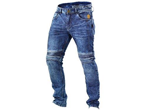 TRILOBITE Motorrad Jeans Hose MICAS URBAN Herren inkl. Protektoren Größe 34/32