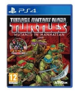 Teenage Mutant Ninja Turtles: Mutants In Manhattan Roller Edition (PS4) UK IMPORT (Playstation 4 Ninja Turtle)