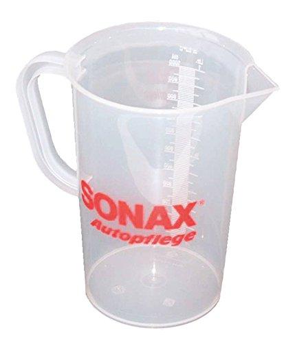 SONAX 04982000 Messbecher 1 ltr. f. 200 ltr. Antifrost