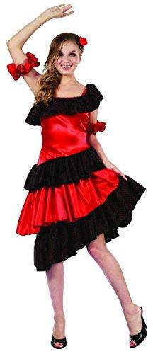 Ballerina Di Kostüm Flamenco - Costume ballerina di flamenco adulto M