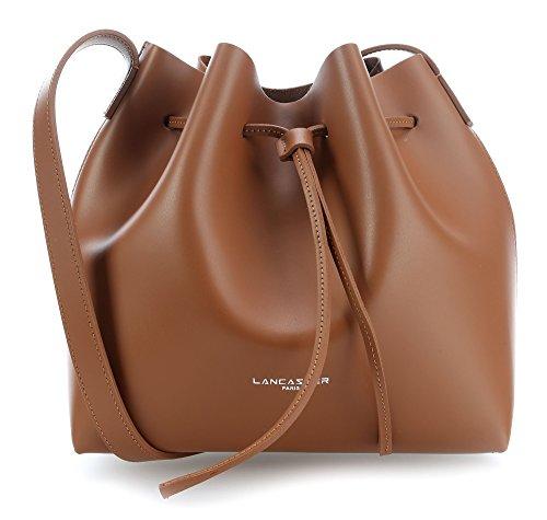 GSELL Tasche getragen durch LA423–�?0grau–Lancaster-Spaltleder Rindsleder nussbraun, braun