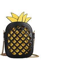 Dame Kleine Quadratische Tasche Neue Persönlichkeit Ananas Tasche Mode Schulter Diagonal Handtasche