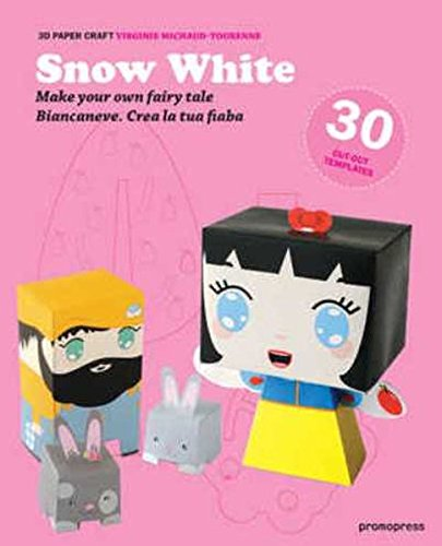 3D Paper Craft Snow White (Papier-puppe Handwerk)