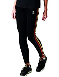 Donna Nero Pantaloni it Amazon Adidas Abbigliamento TpUExqnIW