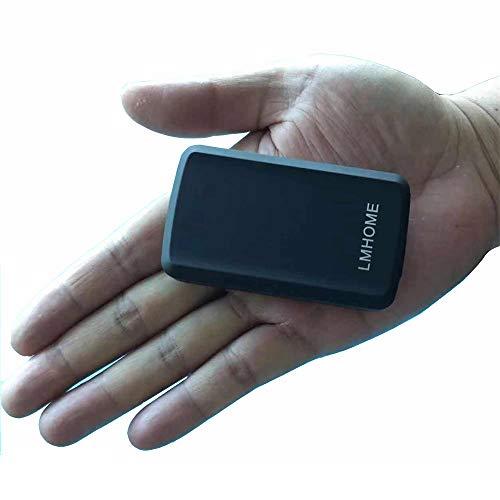 Rastreador de GPS mini antirrobo, rastreo global en tiempo real para coches,...