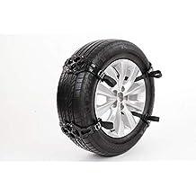 GSYDXL Tyre Peaks Cadenas de Cadenas de Nieve de plástico Nieve para Ruedas de automóviles Cadena