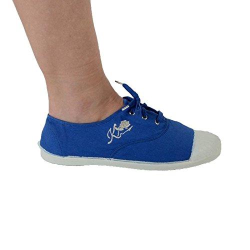 Basket Kaporal 5 Shana Bleu Indigo / Blanc V2 Bleu
