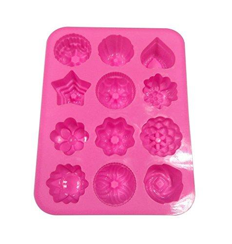 FantasyDay® Stampo in Silicone con 12 Cavità per Cubetti di