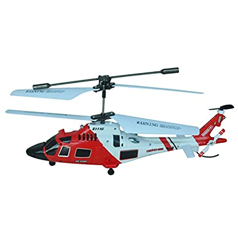 SYMA S111G 3.5Ch 3-Channel Gyro R/C Infrared Remote Controlled Indoor Helicopter with Gyroscope