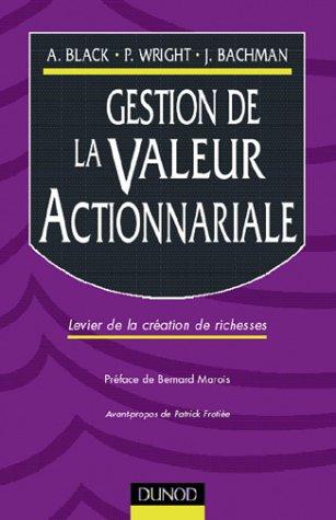 Gestion de la valeur actionnariale