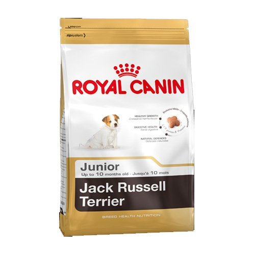 Royal Canin Puppy Food Junior Biscuits for Jack Russell Terrier Puppies Age 2-10 Months 3 kg Bag