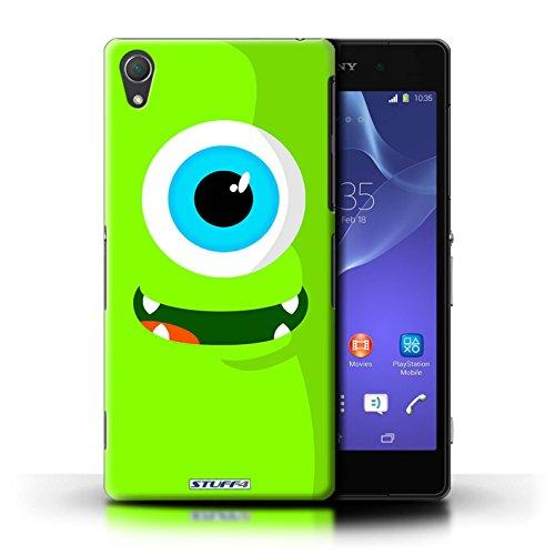 Kobalt® Imprimé Etui / Coque pour Sony Xperia Z2 / Vert conception / Série Monstres Vert