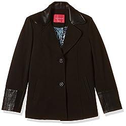 Fort Collins Girls Coat (18102_30(10-11 yrs)_Black)