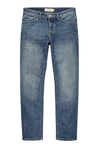 next Herren Jeans Gerade Passform Herren-Jeans Jeanshose Freizeithose Denim Hose Hellblau