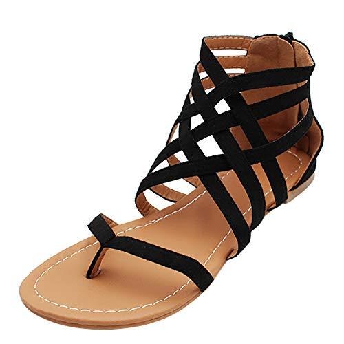 uirend Scarpe da Donna Sandali - Infradito Estive Clip Toe Boemia Casuale Fasciatura Piatte Shoes Moda Spiaggia Pantofole Holiday Festa